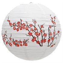 Luminária Sakura Japonesa Chinesa Oriental Lanterna Hachi8