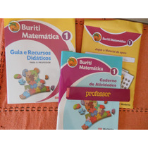 Livro Matemática 1º Projeto Buriti (livro Para Professor)