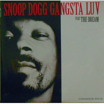 Cd Snoopy Dogg Gangsta Luv 2009 Single Ep Importado