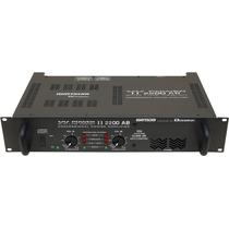 Amplficador Potencia 495w Rms Ciclotron W Power 3300