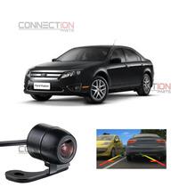 Câmera De Ré Automotiva Estacionamento Ford Fusion Todos Mod