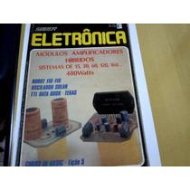 Revista Saber Eletrônica Nº158 Módulos Amplificadores Híbrid