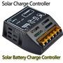 Controlador De Carga 12v 24v 10a P Painel De Energia Solar