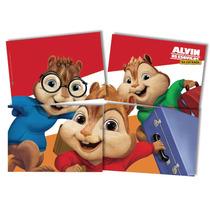 Tela Painel Decoração Festa Aniversário Alvin E Os Esquilos