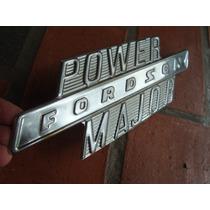 Emblema Trator Fordson Major
