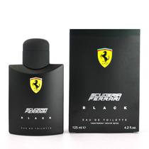 Perfume Importado Ferrari Black 125ml 100% Original Lacrado!