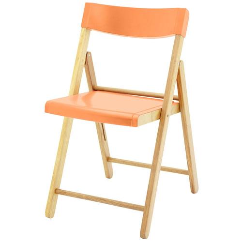 Cadeira Tramontina Potenza Natural / laranja