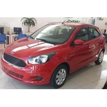 Calha Defletor Chuva Ford Ka Novo Hatch Sedan 4 Portas #