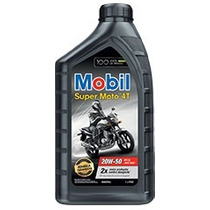 Caixa Óleo Mobil Super Moto 4t 20w50 24 Litros