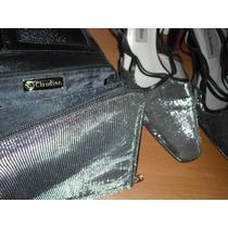 Bolsa Carteira Com Sapato De Festa Grife Claudina Nº 37