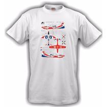 Camiseta Aeromodelismo Tucano Display Branca