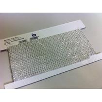 Corrente De Strass Preciosa Pp24 Cristal Base Plástica