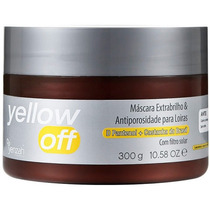 Yenzah Yellow Off Máscara Extra Brilho 300g