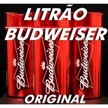 Porta Garrafa Bebida Cerveja ( Série Especial Budweiser )