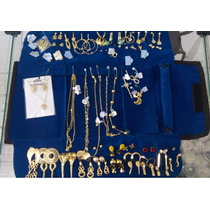Kit Semi-jóias Atacado 50 Pçs Folheadas + Mostruário