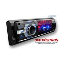 Dvd Player 3 Positron Com Usb Frontal Cod. 90144