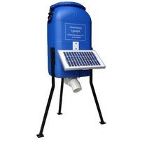 Alimentador Automático Para Peixes, 50 Litros, Painel Solar