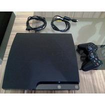Playstation 3 - Ps3 Slim 160 Gb + Hdmi - Bluray + Caixa