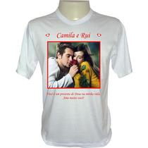 Camiseta Personalizada - Personalize Camisa Com Foto E Frase