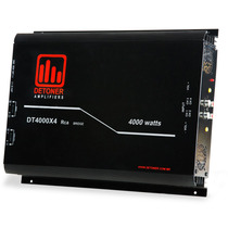 Amplificador Detoner Dt 4000x4 Watts 4canais + Frete Gratis