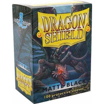Dragon Shield Matte Black Protetores Sleeves Magic