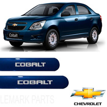 Friso Lateral Chevrolet Cobalt 2012 /2016 Azul Macaw *