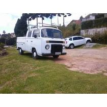 Kombi Picape Cabine Dupla A Diesel 1979