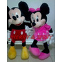 Casal Mickey E Minnie - Pelúcia Disney Pronta Entrega