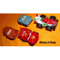 Miniaturas Em Metal Do Filme Cars Kit Com 4 Carrinhos