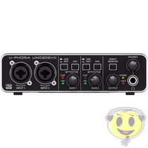 Interface Audio Usb Behringer Midas Umc 202 Hd - Kadu Som