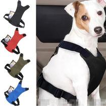 Peitoral Adaptável Cinto De Segurança Cachorro Caes Pet