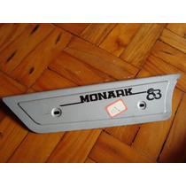 Capa Corrente Monark 83 Cinza Monareta E Barra Circular