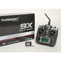 Radio Turnigy 9x + Receptor Mode 2 V2 Radio Aeromodelo