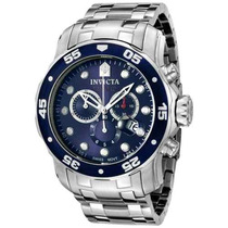Relogio Invicta 0070 Pro Diver Collection Cronógrafo Azul
