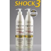 Kit Shock 3 Nutra Hair * Regenerador Capilar * 500ml