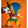 Mascote Da Copa Fuleco - 25 Cm Pronta Entrega