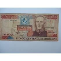 Cedula De 5000 Mil Pesos Uruguay De - /bc