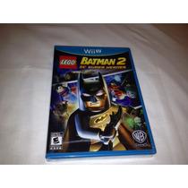 Batman 2 Dc Super Heroes - Lego (lacrado) Nintendo Wii-u