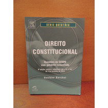 Livro Direito Constitucional Gustavo Barchet 9ª Edição Cespe