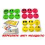 Kit 5 Repelente Adesivo Natural Ant Mosquito Sorriso Carinha