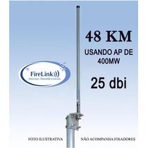 Antena Omni 25dbi Para Bullet Mikrotik Internet Wireles