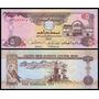 U A E Emirados Árabes P-19b Fe 5 Dirhams 2001 * C O L *