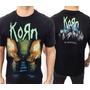 Camiseta De Banda - Korn - The Paradigma Shift