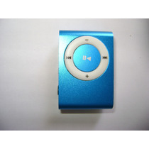 Mini Mp3 Player Clip + Carregador Usb + Fones-suporta 32gb