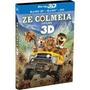 Blu-ray 3d Ze Colmeia O Filme - Blu-ray 3d+blu-ray+dvd