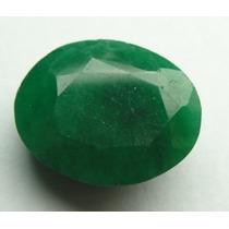 Esmeralda 100% Natural Oval Verde 7.45 Cts! Ref.:243