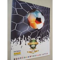 Album Figurinhas Campeonato Brasileiro 2013 Vazio
