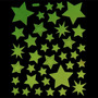 Frete Grátis - Estrelinhas Brilham No Escuro -fosforescentes
