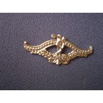 Distintivo Dourado Da Escola De Educação Física Do Exército