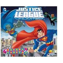Livro Quebra Cabeça Liga Da Justiça